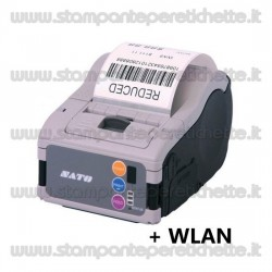 Sato MB200i WLAN incl. battery with LCD